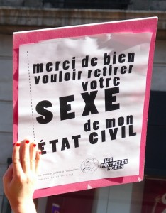 sexe e´tat civil